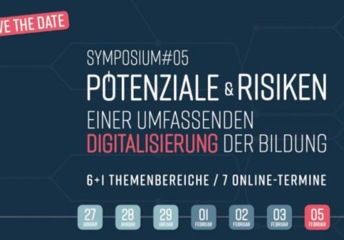27.01. bis 05.02. Symposium digitale Bildung