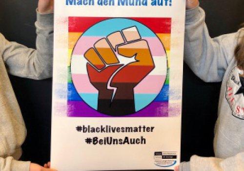 Überschrift:Nein zu Rassismus!