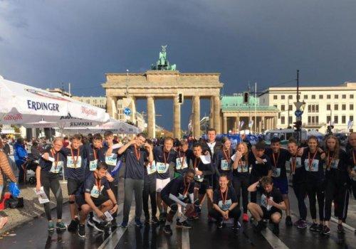 HLS startet 2019 weiterhin beim Schülermarathon Berlin