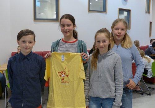 Erfolg im Känguruwettbewerb 2019