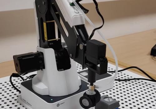 Robotiklabor schreitet voran