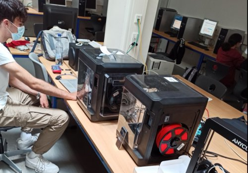 3D-Druck begeistert Schüler*innen