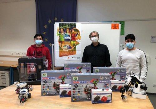 Roboter-Labor wird ausgebaut