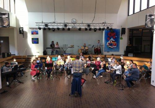 2. Workshop mit dem Sinfonischen Blasorchester Oldenburg (SBO) für die 6a